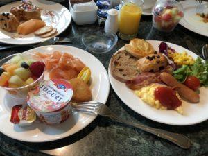 キングダムクラブルームの朝食