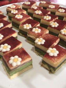 京都製菓製パン技術専門学校とのコラボケーキ