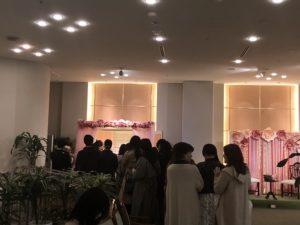 グランドプリンスホテル京都のいちごブッフェ入り口