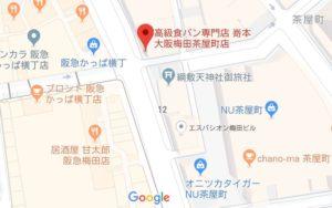 嵜本の地図