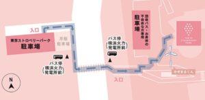 東京ストロベリーパークの地図