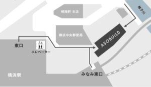 うんこミュージアムの地図