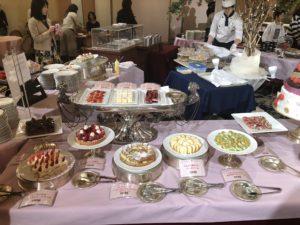 グランドプリンスホテル京都のいちごブッフェ料理