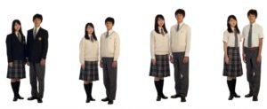 咲くやこの花高等学校の制服
