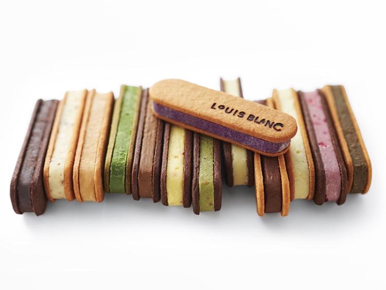 ルイスブランのチョコレートサンド