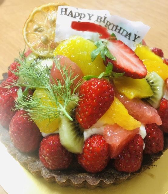 あまつひ誕生日ケーキ
