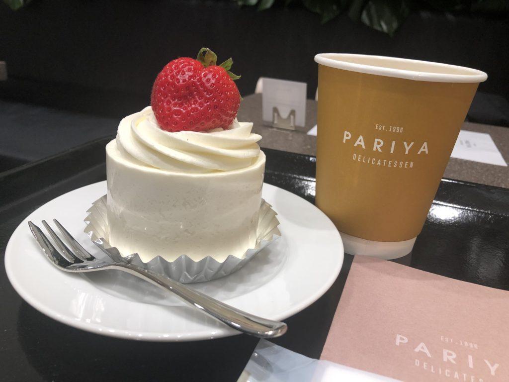 パリヤのろうそくケーキ