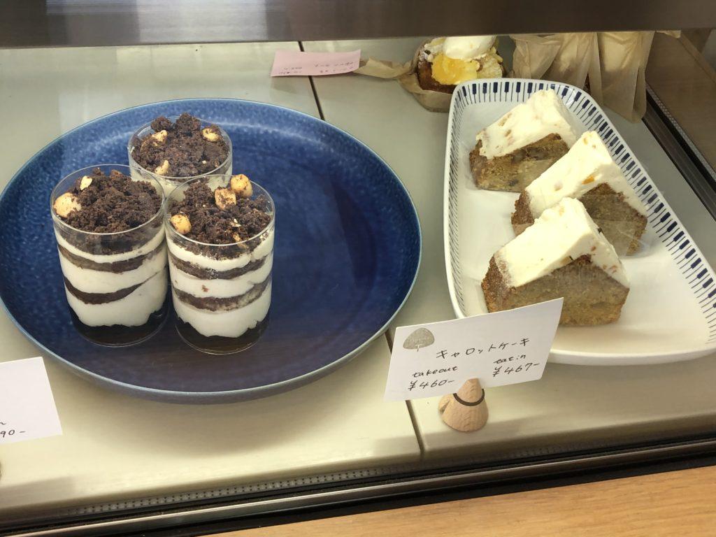 タワニコのケーキ